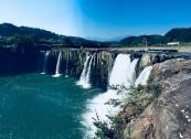 Harajiri Falls on the Ono River of Oita.